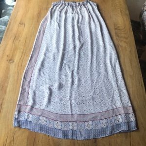 Vince silk maxi dress - size 8